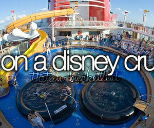 cruise, disney, and family image