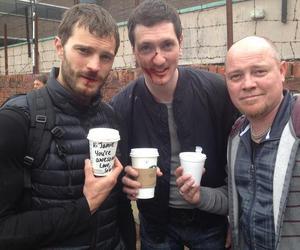 gillian anderson, Jamie Dornan, and the fall image