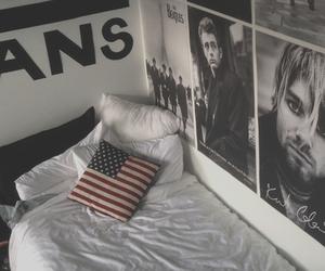 vans, room, and Pink Floyd image