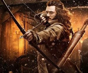 the hobbit, bard, and luke evans image