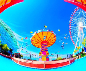 photography, water, and amusement park image