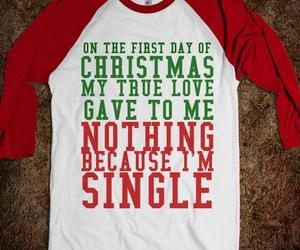 christmas, single, and lol image