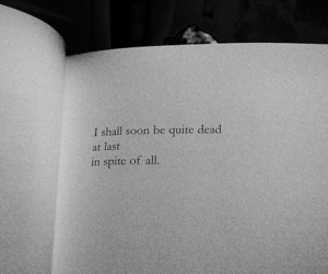 book, quote, and dead image