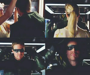 arrow, otp, and tv show image