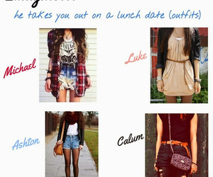 outfit and 5sos image
