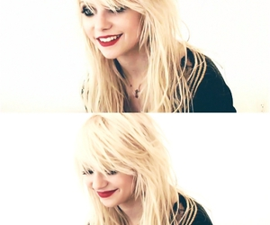 Taylor Momsen, smile, and the pretty reckless image