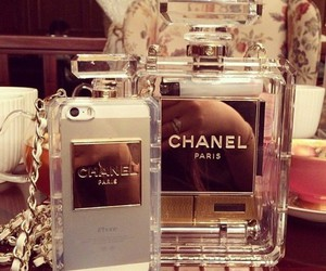 chanel, iphone, and perfume image