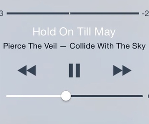 band, pierce the veil, and hold on till may image
