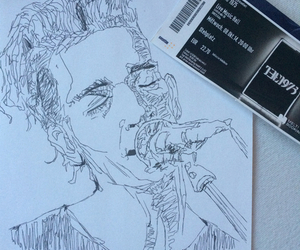 indie, the 1975, and drawing image