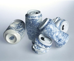 art, can, and porcelain image