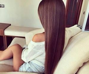 brown, girl, and home image
