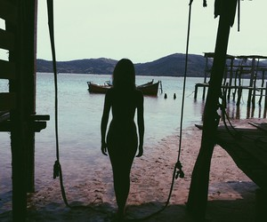 girl, lovely, and skinny image