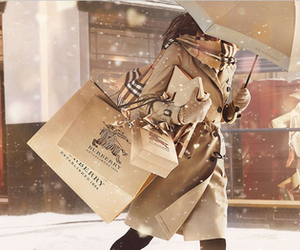 Burberry, snow, and style image