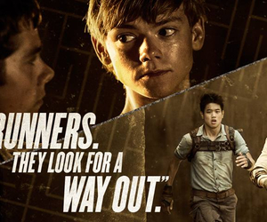 runner, newt, and thomas image