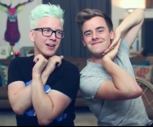 Connor, tyler, and youtubers image