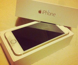 apple, iphone6, and love image