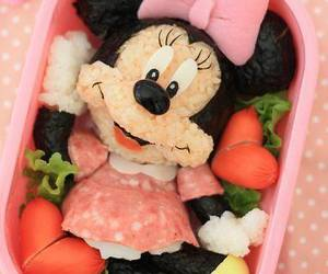 food, minnie, and cute image