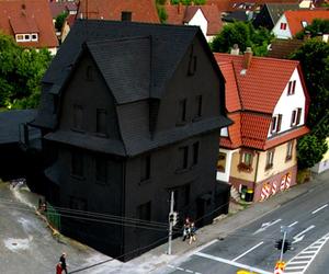 black, house, and dark image