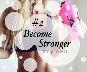 girl and Stronger image