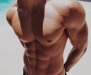 abs, perfect, and boy image