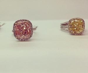 diamond, jewelry, and rings image