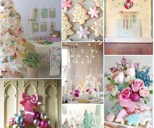 christmas, Collage, and kawaii image