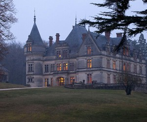 castle, architecture, and house image
