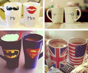 cup, mug, and batman image