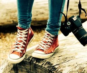 converse, camera, and photography image