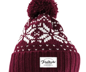 beanie, fashion, and knitted image