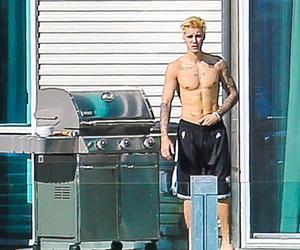 Hot, justin bieber, and sin camisa image