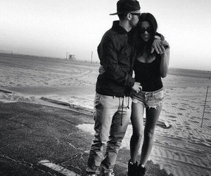 black and white, sweet, and love image