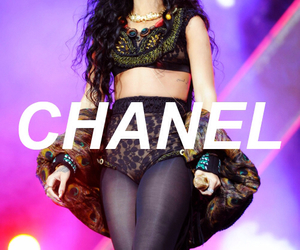 rihanna, chanel, and fashion image