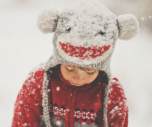 snow, winter, and cute image