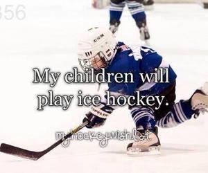 child and hockey image