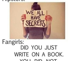 book, fangirls, and hipsters image