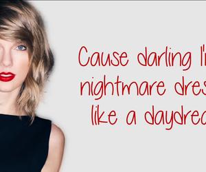 blank space, Lyrics, and Taylor Swift image
