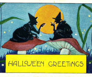 Halloween and vintage image