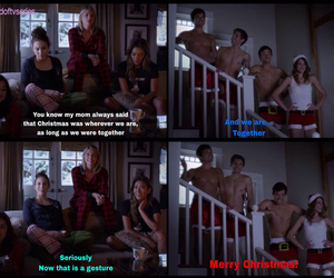 christmas, lol, and pretty little liars image
