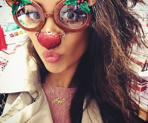 christmas, pretty little liars, and shay mitchell image