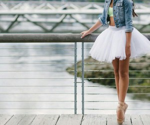 ballerina, pointe shoes, and white image