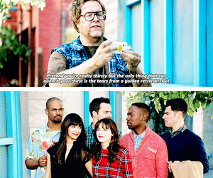 funny, quotes, and new girl image