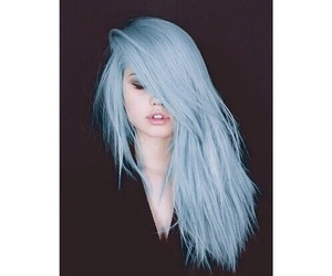 hair, debby ryan, and blue image