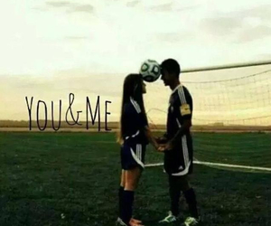 couples and soccer image