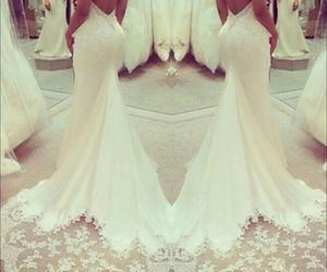 elegant, sexy back, and white lace image