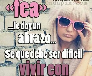 chicas, espanol, and frases image