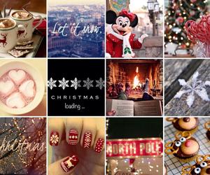 chocolate, christmas, and snow image