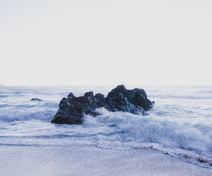 ocean, sea, and beach image