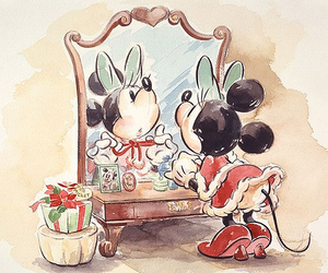 disney, minnie mouse, and minnie image