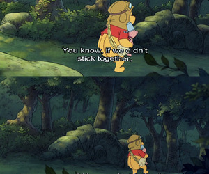 winnie the pooh, piglet, and quotes image